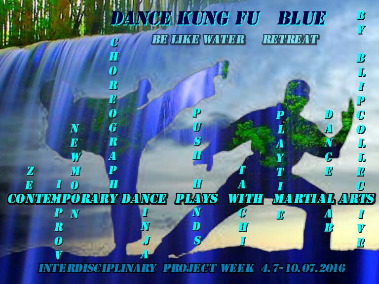 Dance Kung Fu Blue